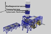 Производство блоков методом полусухого вибропрессования ПБПМ-НТ