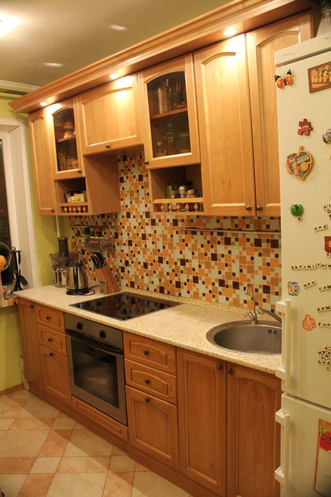 Кухонная встроенная мебель своими руками