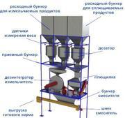 Универсальная автоматизированная установка приготовления кормов
