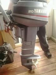 продам лодочный мотор ямаха-20