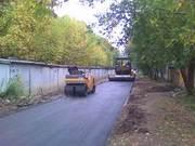 Укладка асфальта,  асфальтирование в Новосибирске