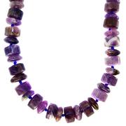 Фиолетовое ожерелье из аметиста