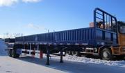 Бортовой полуприцеп«CIMC»CS9350грузоподъёмностью 40 тонн.