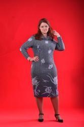 Продажа женских платьев и блуз оптом  для нестандартных