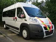 Заказ автобуса, микроавтобуса на свадьбу в Новосибирске