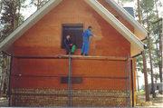 Очистка фасада зданий. Удаление высолов со стен