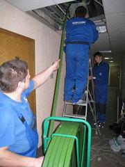 Очистка системы вентиляции,  прочистка дымоходов,  дезинфекция воздухово