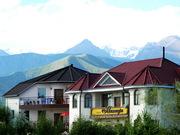 летний отдых на берегу озера Иссык-Куль,  в отеле Восторг,  Киргизия.