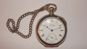Продам карманные часы Waltham с цепочкой (конец XIX в.)
