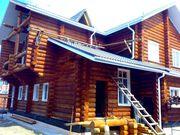 Компания по строительству деревянных домов.