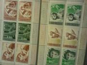 Коллекционные почтовые марки 1975 г 500 летие микеланджело