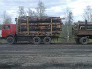 Лесовоз сортиментовоз с водителем