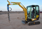 Гидравлическое буровое оборудование Drd-4 (Англия) на мини-экскаваторы