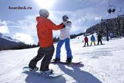 Инструктор по сноуборду за 1 день!