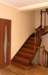 Интерьеры из дерева в Новосибирске. Лестницы из массива.