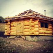 Срубы домов и бань из Алтайского Кедра. Канадская рубка.