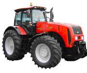 Оптовая и розничная продажа тракторов,  навесного оборудования и запасн