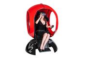 VR аттракцион красный шар с очками виртуальной реальности