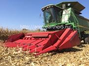 Жатка для уборки кукурузы НАШ 873К от производителя.