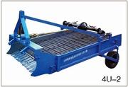 Двухрядная картофелекопалка 4U-2 для мини-трактора