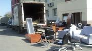 вывоз мебели грузчики  транспорт