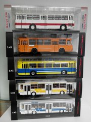 Модели ClassicBus Классикбас автобусы,  троллейбусы 1/43 в Новосибирске