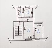 Продам 2-х комнатную квартиру,  42, 4 кв.м.,  торг. п. Листвянский