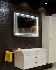 Зеркало для ванной с подсветкой от производителя Интерьер НИКС