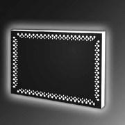 Купить прямоугольное зеркало с  LED подсветкой в Новосибирске